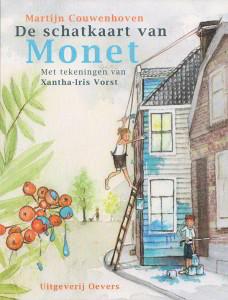 UItgeverij Oevers Cover -De schatkaart van Monet